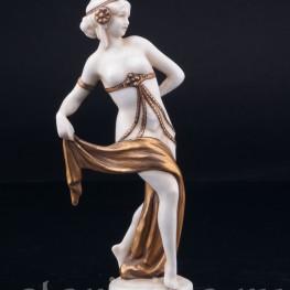 Фигурка из фарфора девушки Восточная танцовщица, E & A Muller (Schwarza-Saalbahn), Германия, нач. 20 в.